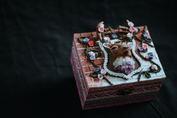 Deer Wooden Box