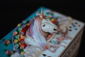 Unicorn Wooden Box